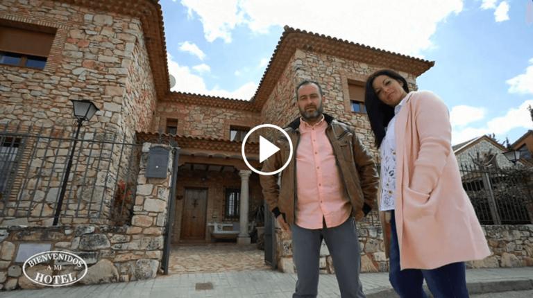 Participación  en el programa de television Bienvenidos a mi hotel emitido por Cuatro
